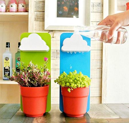 Raindrops Flower Pot