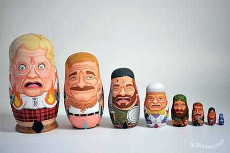 Andy Stattmiller Nesting Dolls