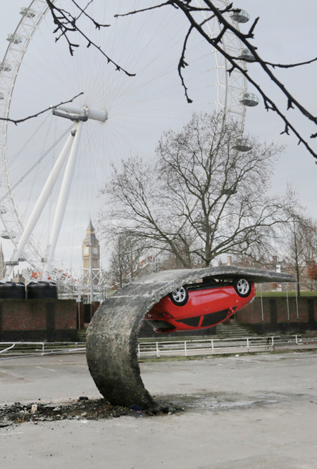 Alex Chinneck Car