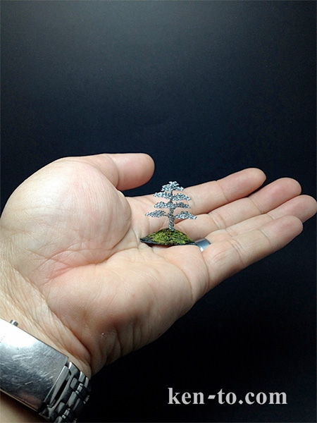 Bonsai Tree Made of Wire