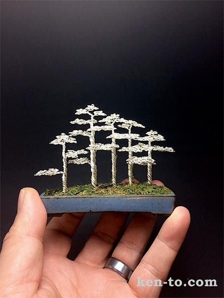 Ken To Wire Bonsai Trees