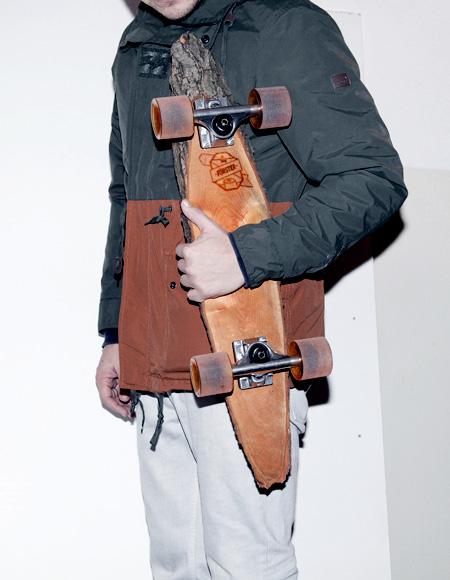 Wooden Skateboard Deck