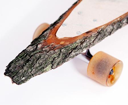 Skateboard Deck Made of Wood