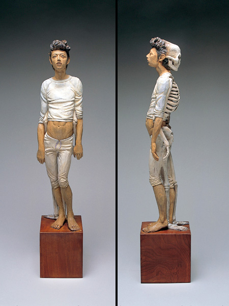 Wooden Sculptures by Yoshitoshi Kanemaki
