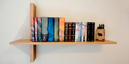 Bridge Bookshelf