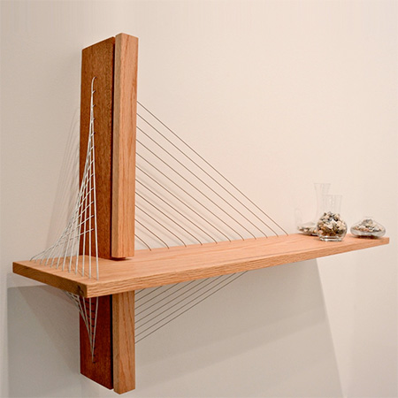 Suspension Bridge Bookshelf