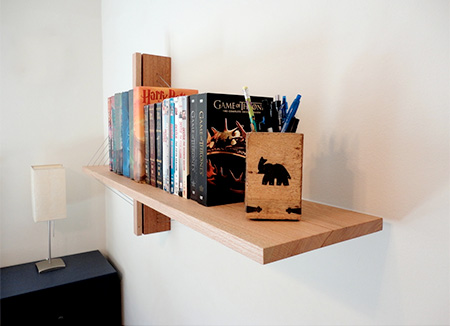 Suspension Bookshelf