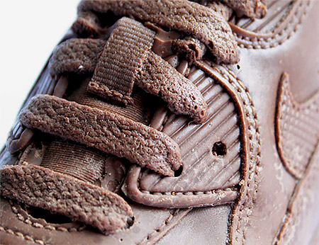 Chocolate Nike Shoe