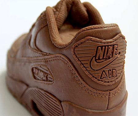Chocolate Nike Sneaker