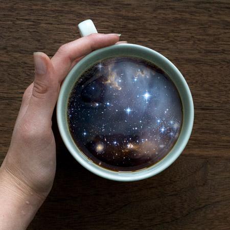 Coffee Cup Galaxy