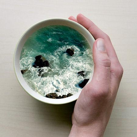 Coffee Cup Waves