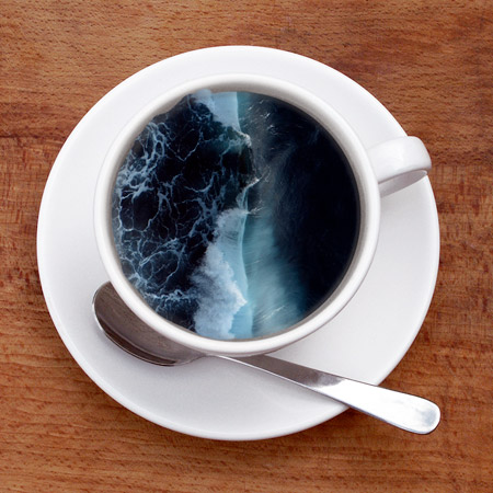 Coffee Cup Wave