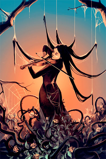 Painting by Cyril Rolando