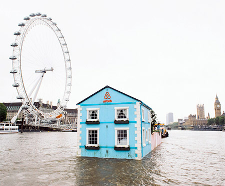 Floating House in London