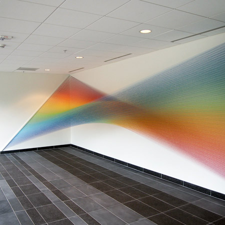 Rainbow Art Installation
