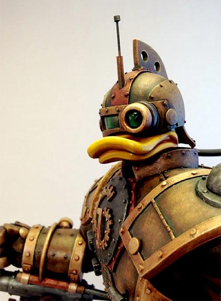 Steampunk Gizmo Duck