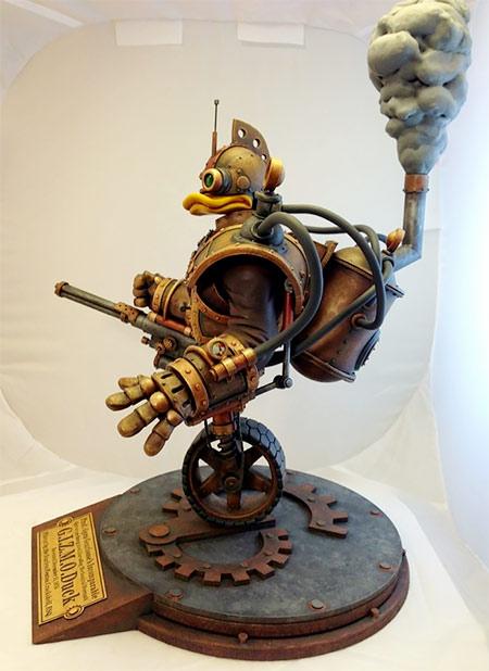 Tim Wollweber Steampunk Gizmo Duck