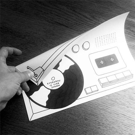 Interactive Paper Art