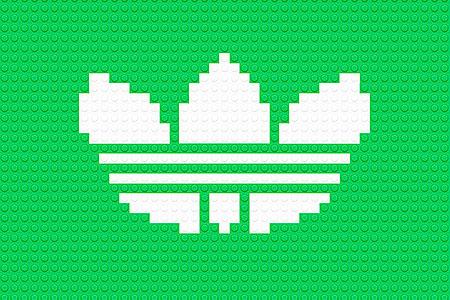 LEGO Adidas Logo