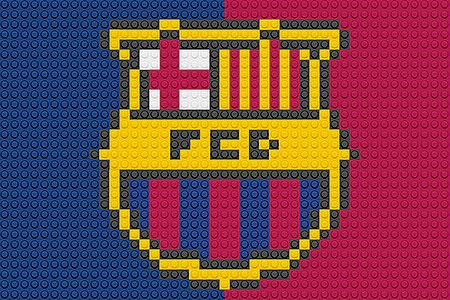 LEGO FC Barcelona Logo