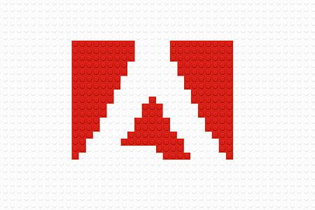LEGO Adobe Logo