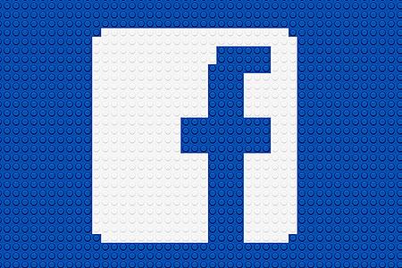 LEGO Facebook Logo