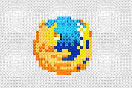 LEGO Firefox Logo
