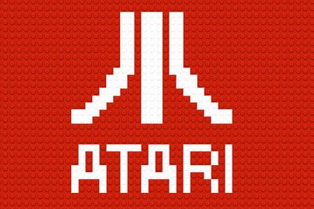 LEGO Atari Logo