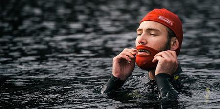Beard Cap for Swimmers