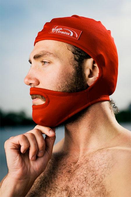 Beard Swimming Cap