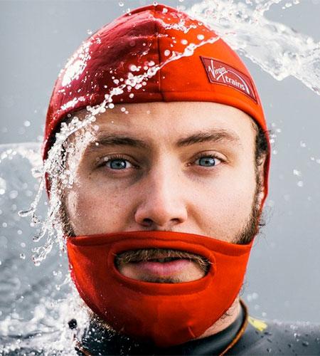 Virgin Trains Beard Cap