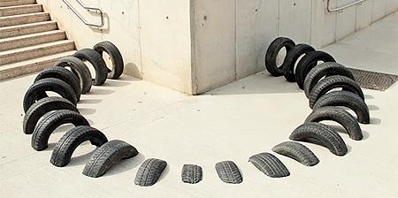 Tire Street Art