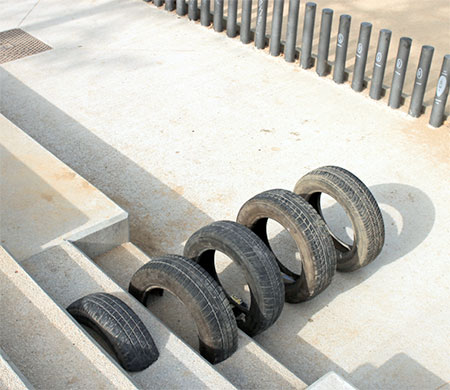 Tires Street Art