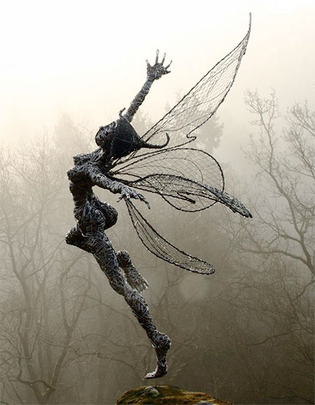 Fantasy Wire Sculptures
