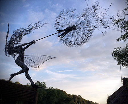 Fairies Sculptures