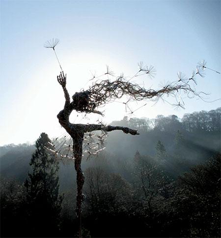 Robin Wight Fantasy Wire Sculptures