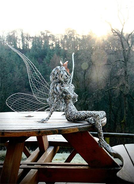 Robin Wight Wire Fairies