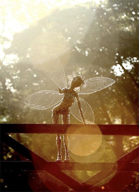 Robin Wight Fairies Sculptures