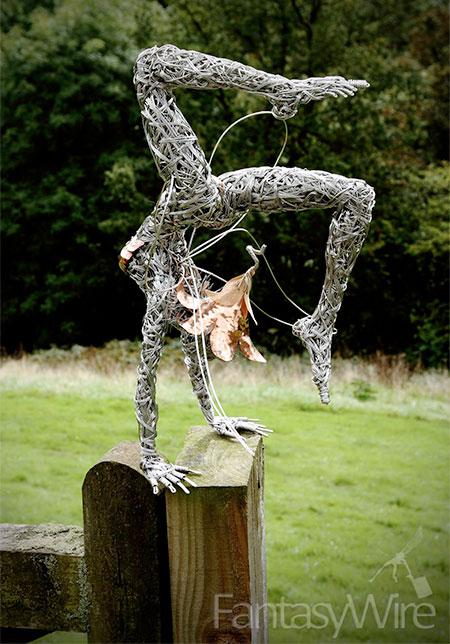 Robin Wight Fairy Sculptures