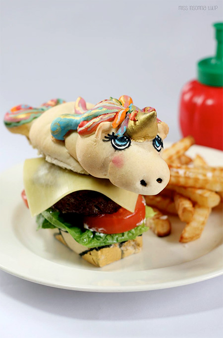 Unicorn Burger