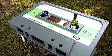 Audio Cassette Table