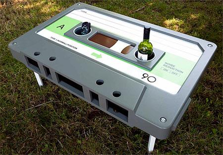 Ross Langley Cassette Table