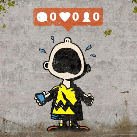 Social Media Street Art
