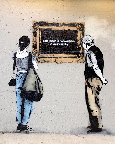 Internet Street Art