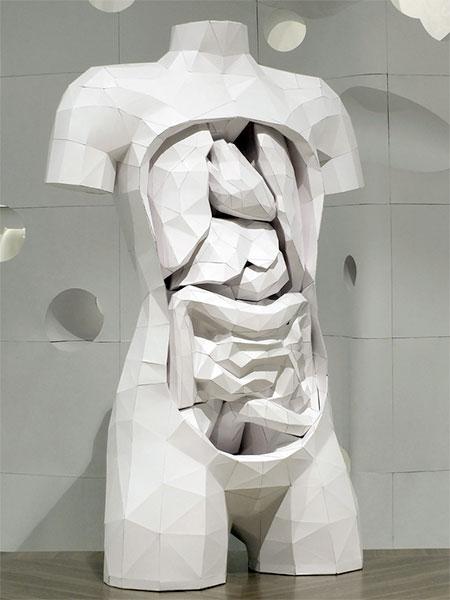 Horst Kiechle Paper Torso