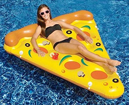 Pizza Slice Swimming Pool Float