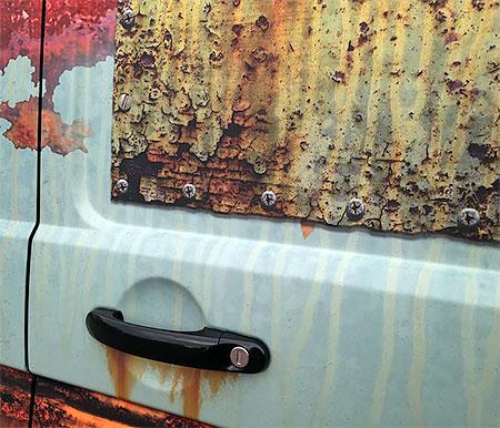 Rust Volkswagen