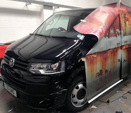 Rusting Car Sticker