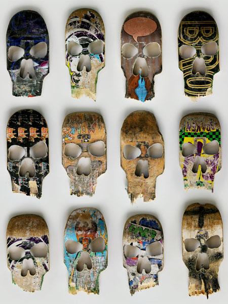 Skateboard Skulls