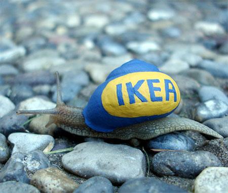 IKEA Snail